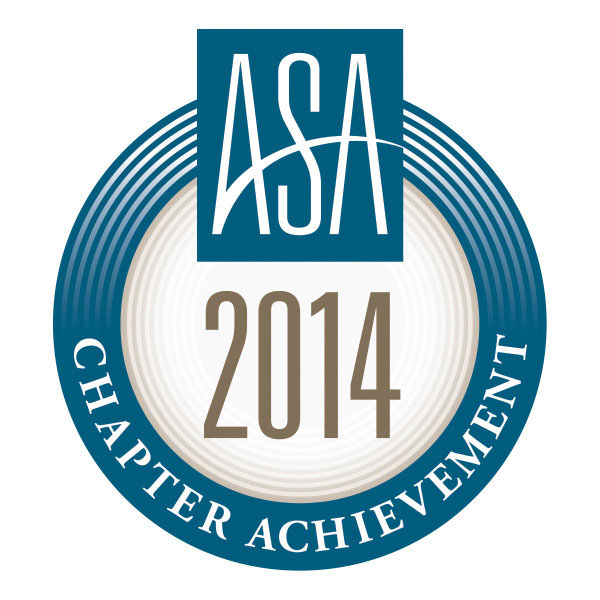 ASA 2014 Chapter Achievement Award