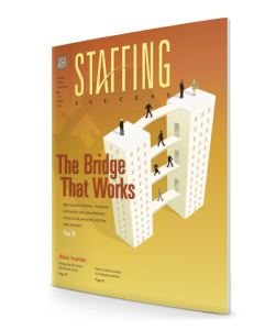 Staffing Success Magazine, July-August 2014