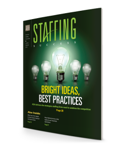 Staffing Success Magazine, January-February 2014