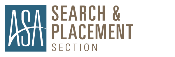ASA Search & Placement Sections
