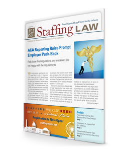 Staffing Law digest, 2014 No 2