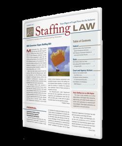 Staffing Law digest, Summer 2012