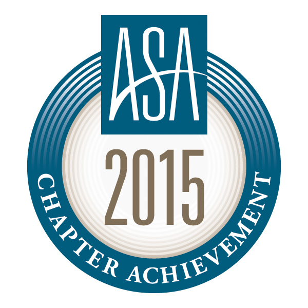 ASA 2015 Chapter Achievement Award