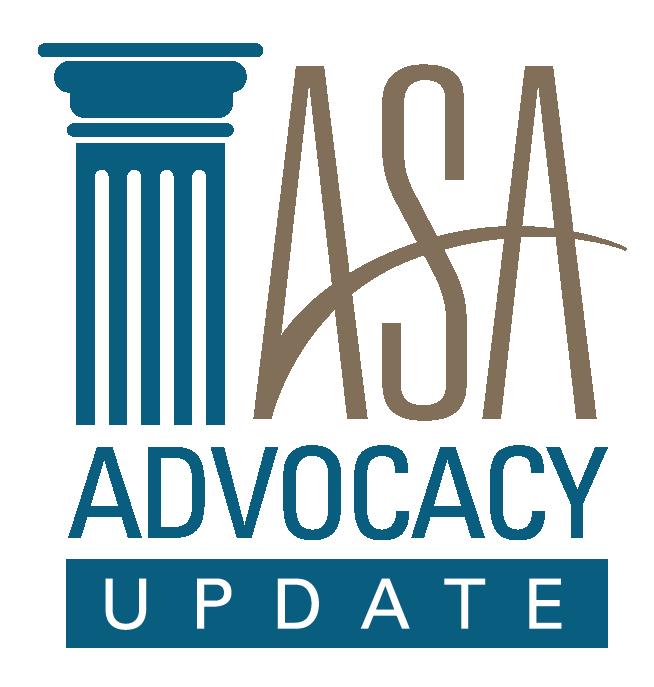 ASA Advocacy Update