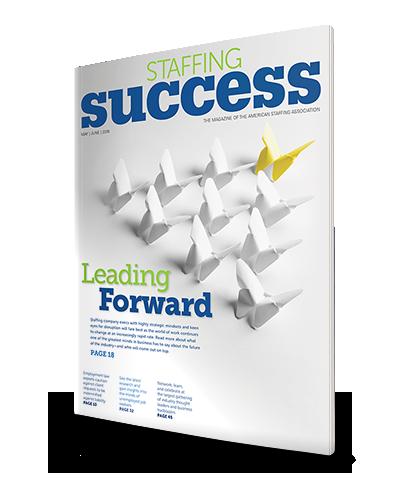 Staffing Success Magazine, May-June 2016