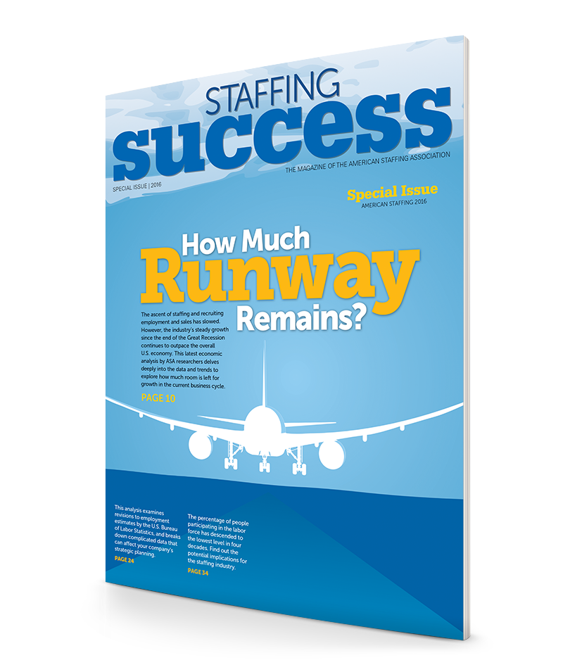 2016 Staffing Industry Economic Analysis