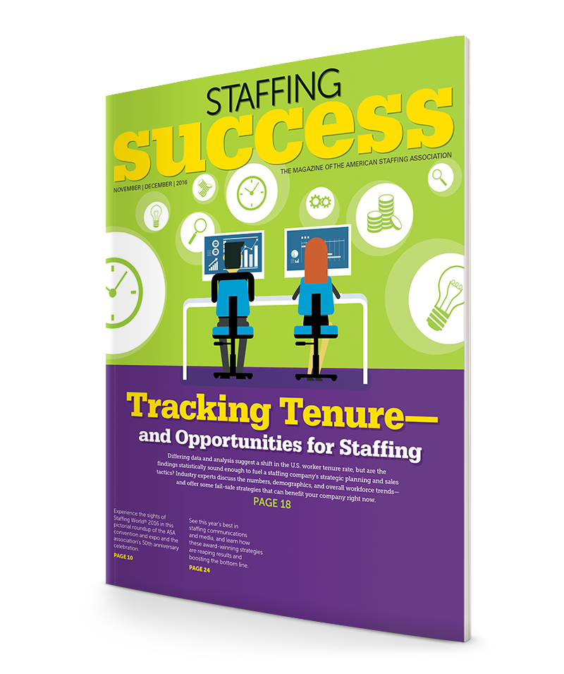 Staffing Success Magazine, Nov-Dec 2016