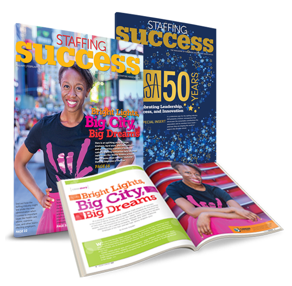 Staffing Success Magazine