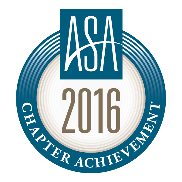 ASA 2016 Chapter Achievement Award