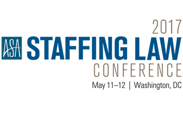 2017 ASA Staffing Law Conference