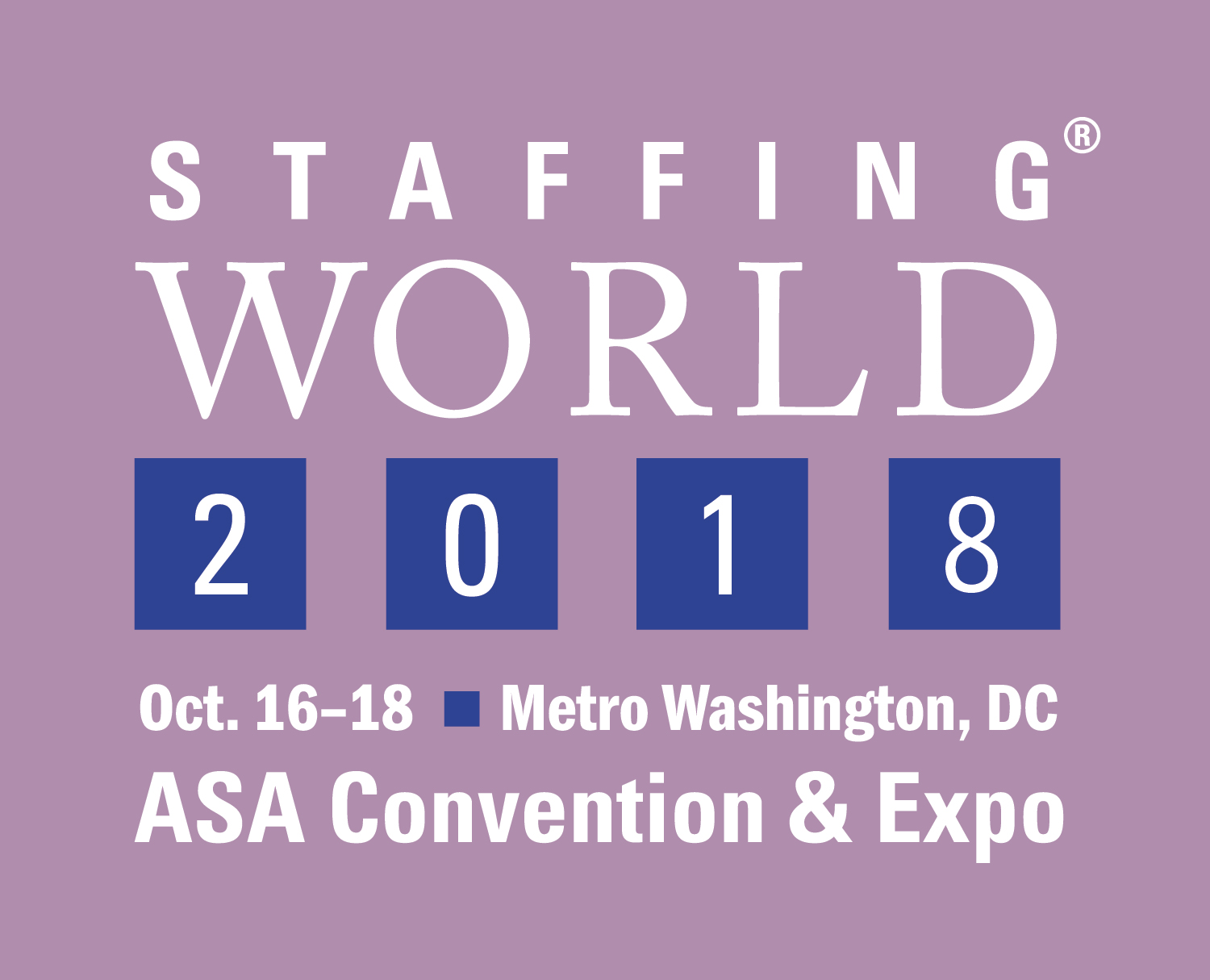 ASA Staffing World 2018