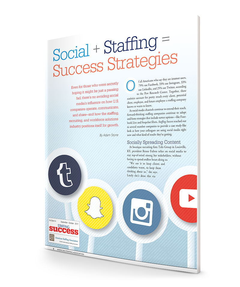 Social + Staffing = Success Strategies