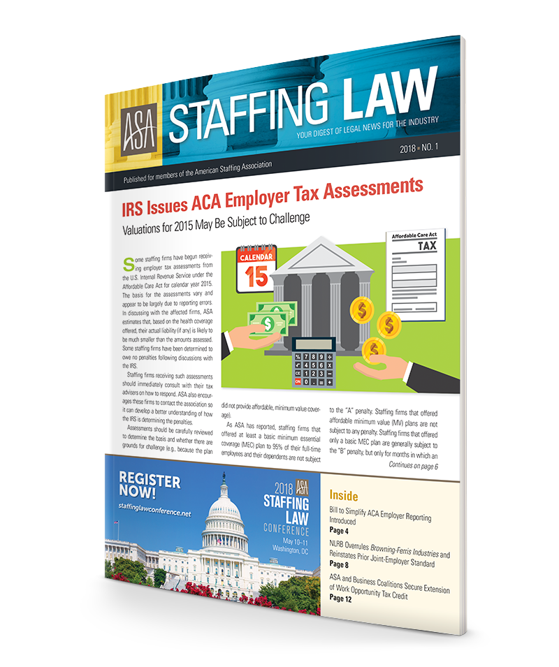 IRS Issues ACA Employer Tax Assessments