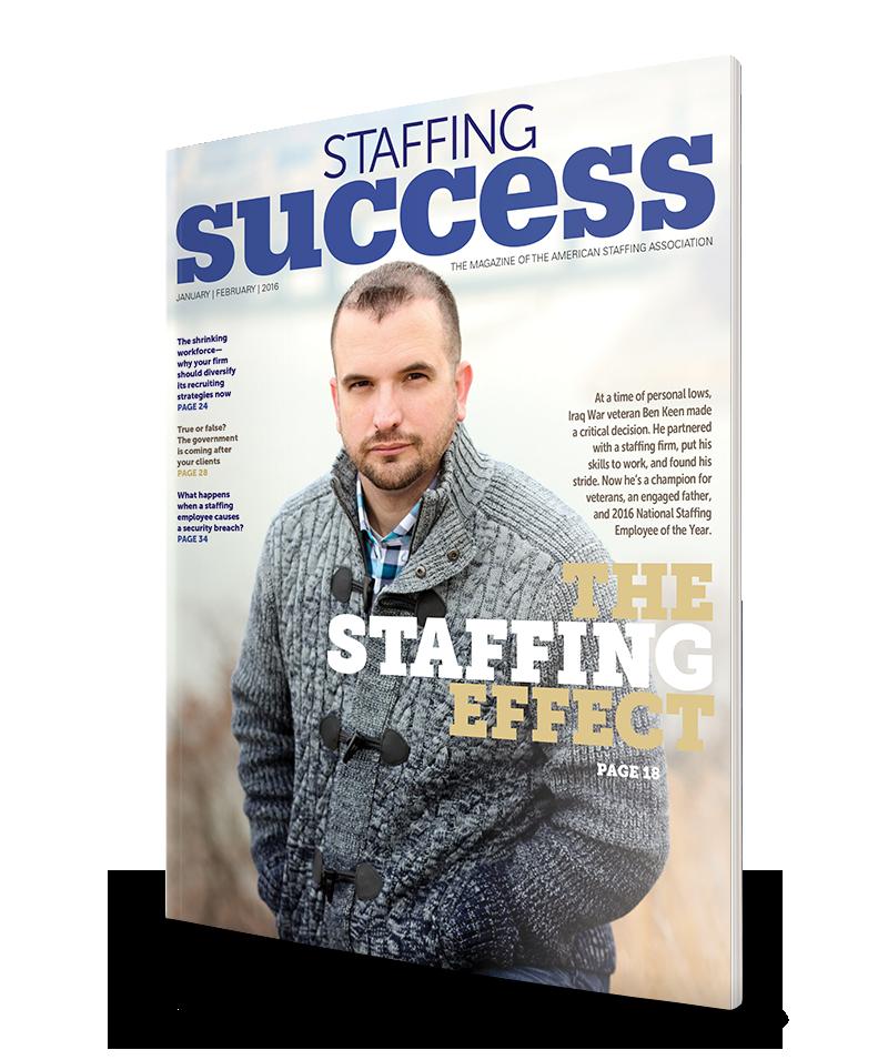 Staffing Success Magazine, January-February 2016