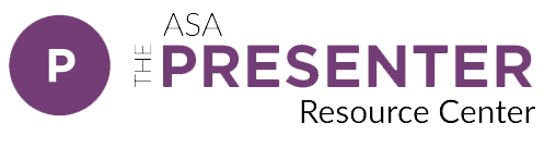 ASA Presenter Resource Center