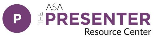 ASA Presenter Resource Center