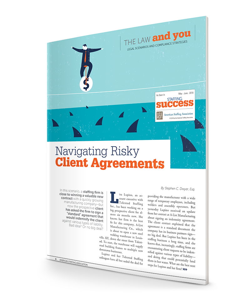 Navigating Risky Client Agreements