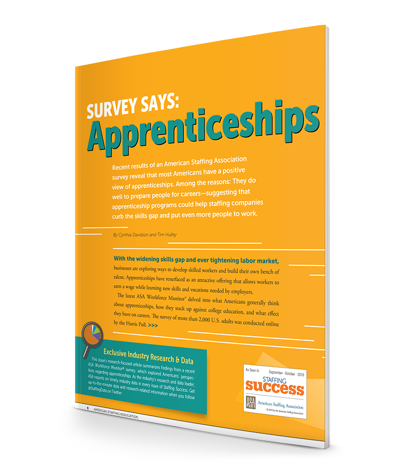 Survey Says: Apprenticeships Kickstart Careers