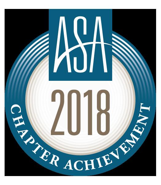 ASA 2018 Chapter Achievement Award