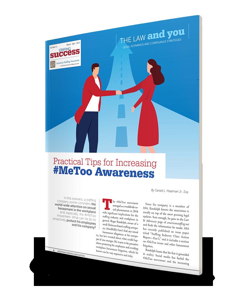 Practical Tips for Increasing #MeToo Awareness