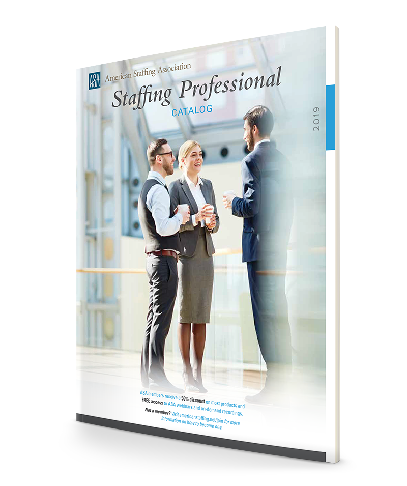 The 2019 ASA Staffing Professional Catalog