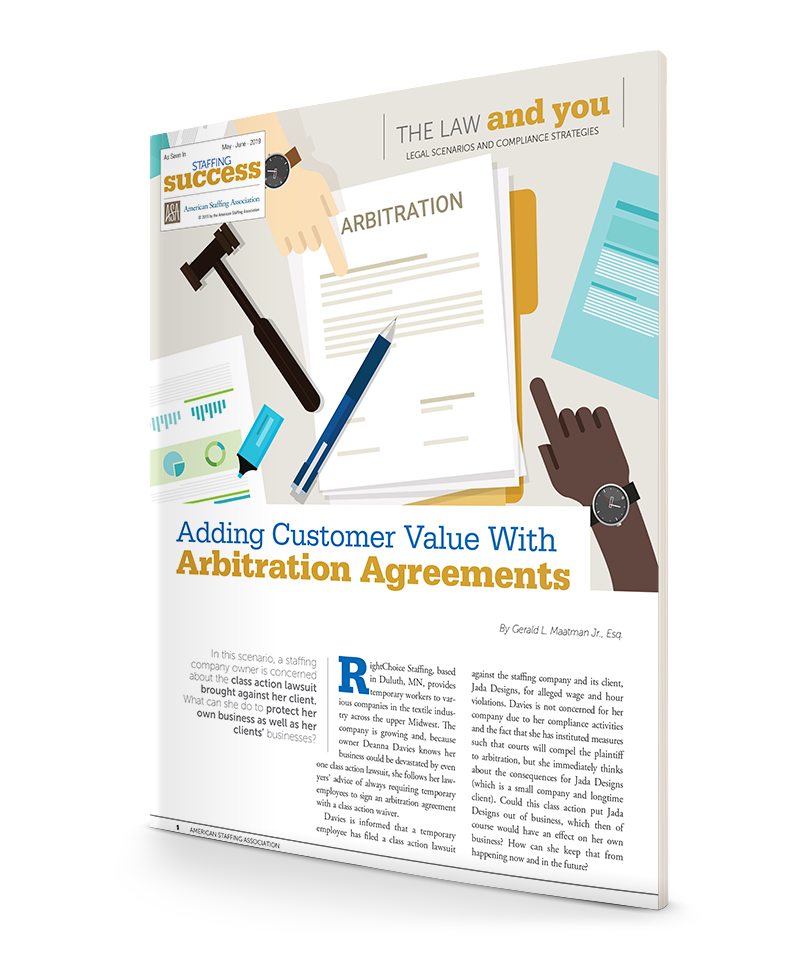 Adding Customer Value With Arbitration Agreements