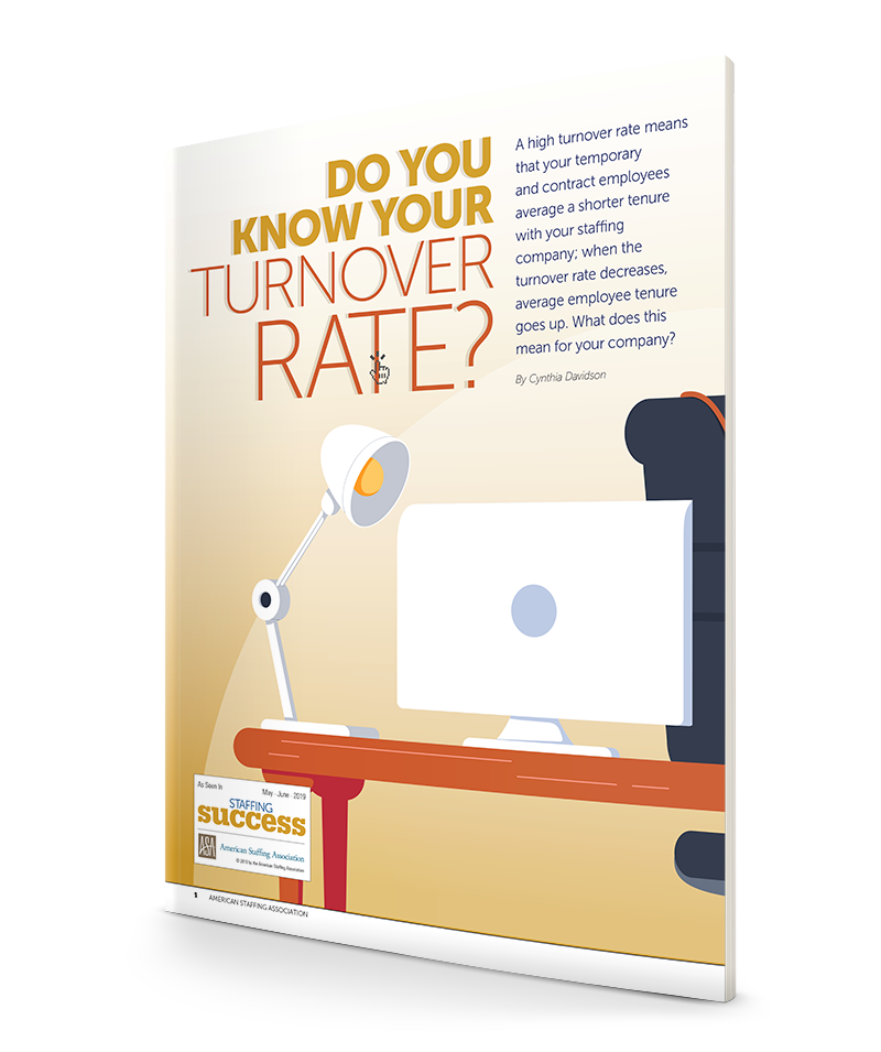 Staffing Success MJ19: Turnover Rate