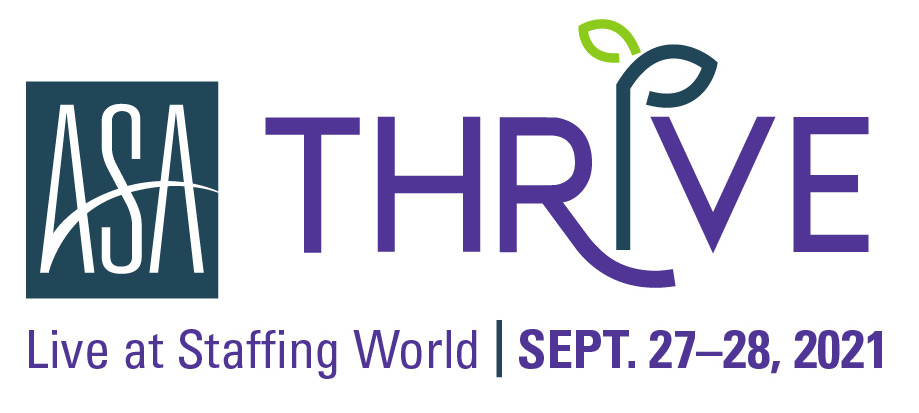 THRIVE: Live at Staffing World