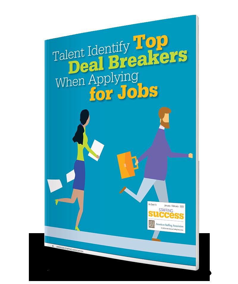 Talent Identify Top Deal Breakers When Applying for Jobs