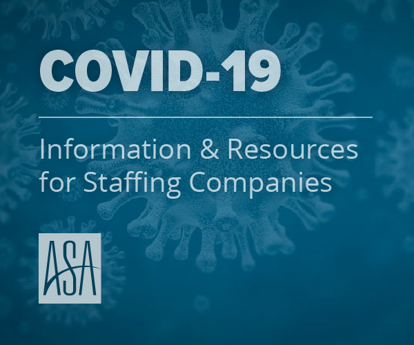 COVID-19 Information & Resources for Staffing Companies