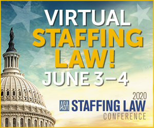 Virtual Staffing Law 2020