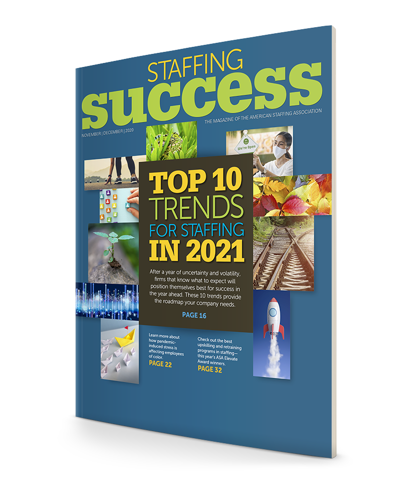 "<span class=""publication-name""><em>Staffing Success</em></span> <span class=""publication-separator"">-</span> <span class=""publication-issue"">November–December 2020</span>"