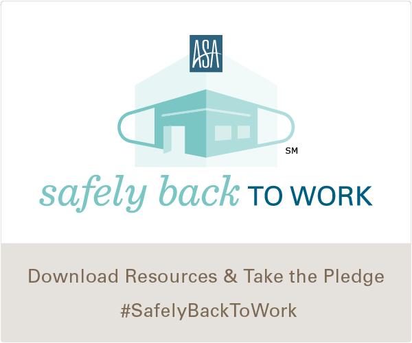 #SafelyBackToWork